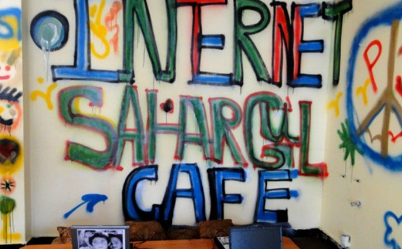 Women-Only Internet Cafe