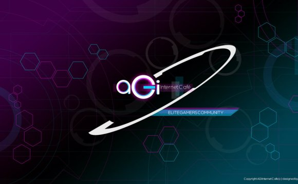 AGI internet cafe wallpaper by