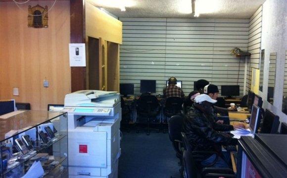 4 Internet Cafes London