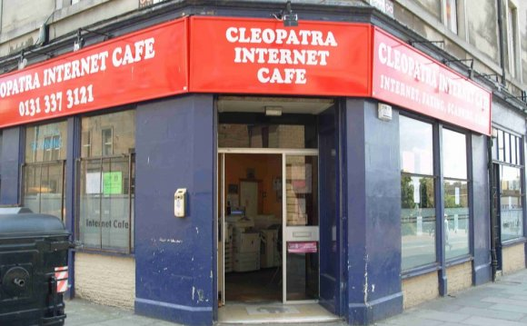 Internet Cafe - Edinburgh