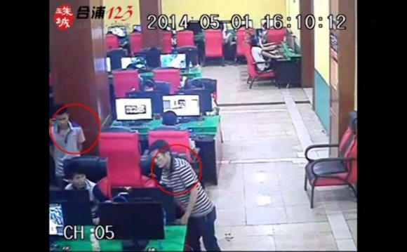 Three work together to steal