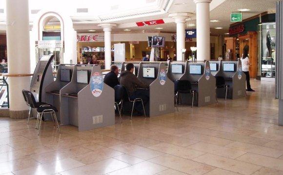 ID2103 Vending Kiosk Internet