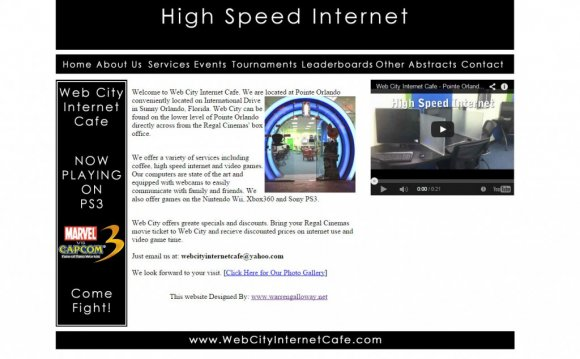 Web City Internet Cafe