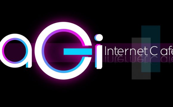 Internet cafes Logo design