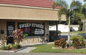 An estimated 200 operators of adult arcades, more than 1,000 Internet cafes and hundreds of Miami's maquinitas have been forced to close down. This one was located in Clearwater.