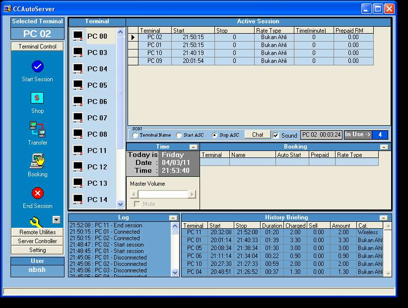 Best free Internet Cafe software [Cybercafe]