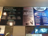 Internet Cafe prices